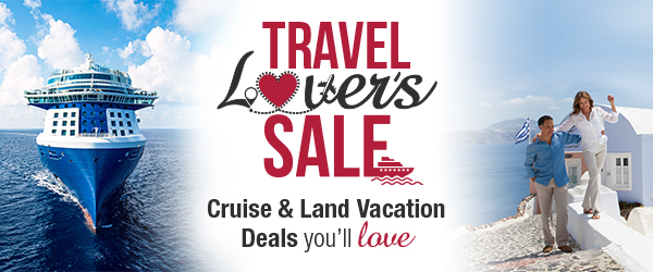 Travel Lover's Sale